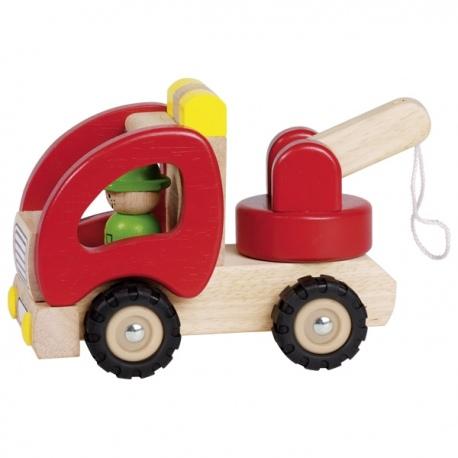 POMOC DROGOWA drewniany samochód