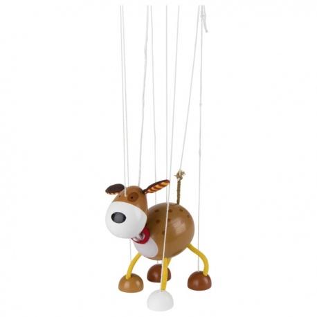 PIESEK drewniana marionetka