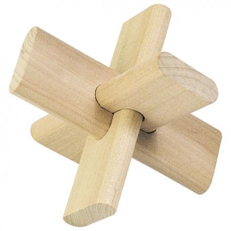 KRZYŻ drewniana łamigłówka