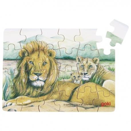 LWY drewniane puzzle