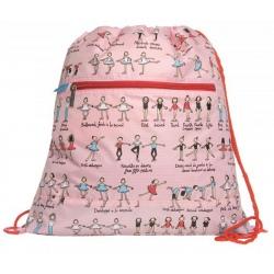 BALETNICE plecak worek sportowy