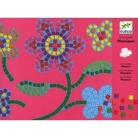 KWIATY zestaw mozaiek