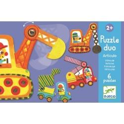 MASZYNY puzzle tekturowe duo