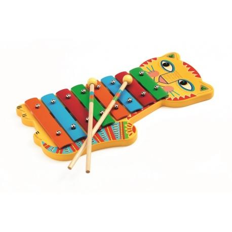 KOTEK drewniane cymbałki ANIMAMBO
