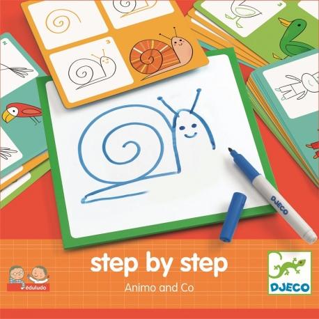 EDULUDO zestaw do rysowania zwierzątek