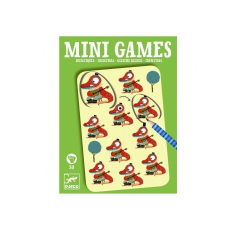 IDENTYCZE OBRAZKI mini gra podróżna