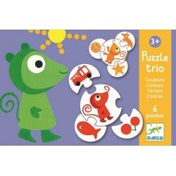 KOLORY puzzle tekturowe trio