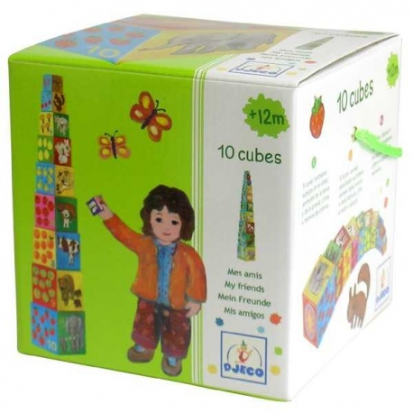 MOI PRZYJACIELE piramida z pudełek