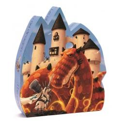 ZAMEK SMOKA puzzle w kartoniku