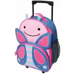 MOTYLEK walizka na kółkach ZOO