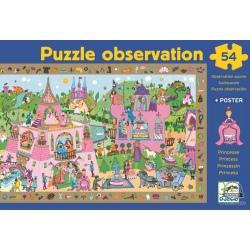 ZAMEK KSIĘŻNICZKI puzzle obserwacje