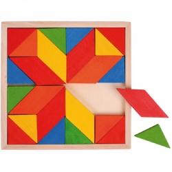 MOZAIKA układanka geometryczna