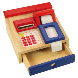 Kasa sklepowa z kalkulatorem