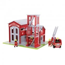 Drewniana straż pożarna