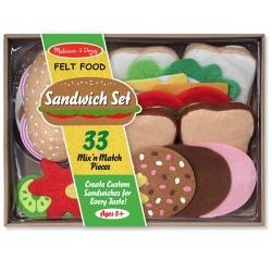 ZESTAW filcowe kanapki