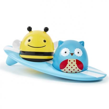 ŚWIECĄCY SURFERZY zabawka do kąpieli ZOO