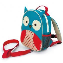 SOWA plecak ze smyczą Baby Zoo