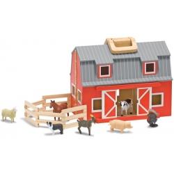 DREWNIANA FARMA ze zwierzątkami