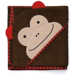 MAŁPKA ręcznik z kapturem ZOO
