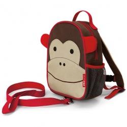 MAŁPKA plecak ze smyczą Baby Zoo