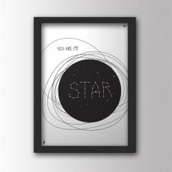 MY STAR gwiazda plakat