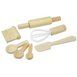 Drewniane przybory do pieczenia