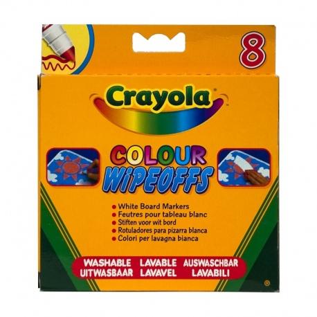 Markery do białej tablicy 8 szt. Crayola
