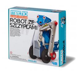 ROBOT ZE SZCZYPCAMI pojazd silnikowy MECHO