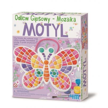 MOTYL MOZAIKA gipsowy odlew