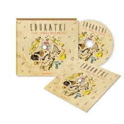 EDUKATKI piosenki dla dzieci CD + książeczka