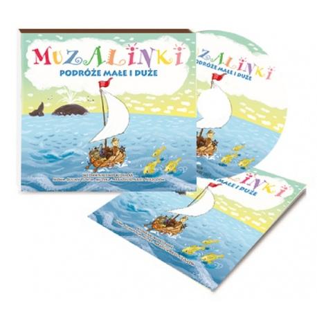 MUZALINKI podróże małe i duże płyta CD