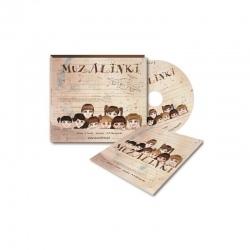 MUZALINKI piosenki dla dzieci CD + książeczka