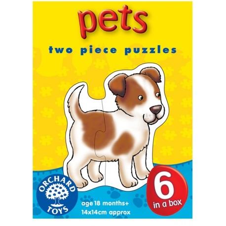 ZWIERZĄTKA pierwsze puzzle dla malucha