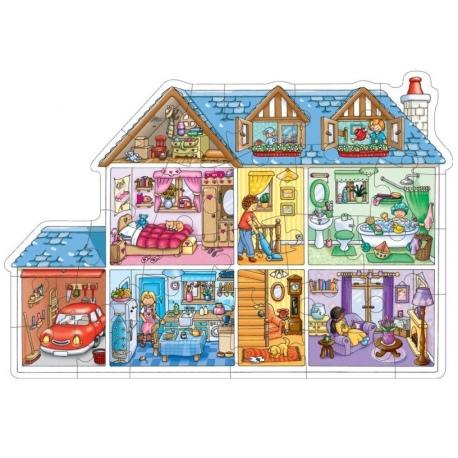 DOMEK puzzle podłogowe