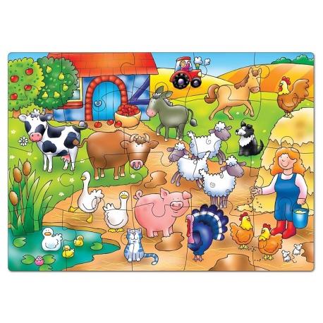 KTO MIESZKA NA FARMIE? puzzle