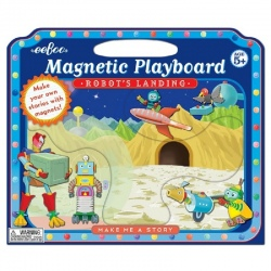 ROBOTY tablica magnetyczna + magnesy
