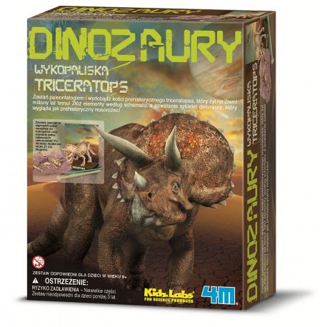 Szkielet dinozaura - Triceratops