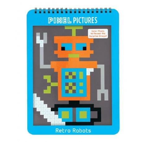 ROBOTY kolorowanka piksele