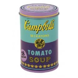 KREDKI ŚWIECOWE Andy Warhol 18 szt.