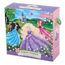 ZAMEK KSIĘŻNICZKI puzzle podłogowe jumbo 25 el.