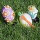 WOSKOWE SZNURECZKI świąteczne jajeczka zestaw kreatywny