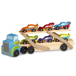 POJAZDY WYŚCIGOWE z ciężarówką