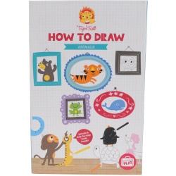 ZWIERZĄTKA zestaw do nauki rysowania