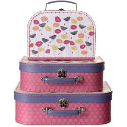 MAKI walizki na zabawki 3 szt.