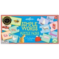 SŁÓWKA puzzle pary do nauki angielskiego