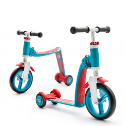 HIGHWAYBABY plus hulajnoga rowerek 2w1 blue