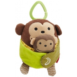 MAŁPKA hug and hide zabawka do wózka