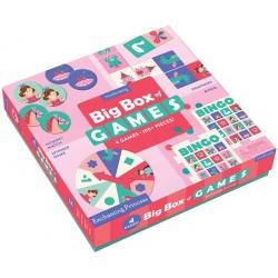 KSIĘŻNICZKI zestaw gier 4w1memo bingo domino koło fortuny