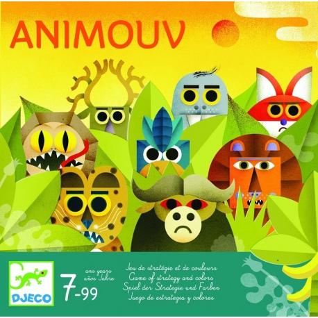 ZWIERZĄTKA gra planszowa Animouv