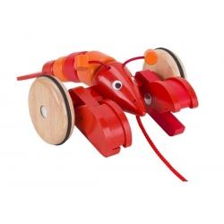 HOMAR drewniana zabawka do ciągnięcia
